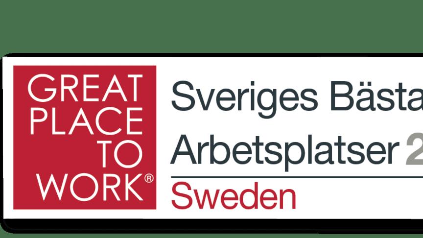 Femte året i rad - Frontit en av Sveriges Bästa Arbetsplatser