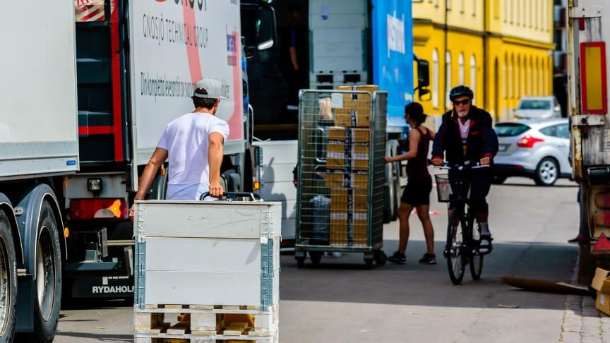 """""""Vi behöver stadsmiljöer med fungerande logistik"""""""