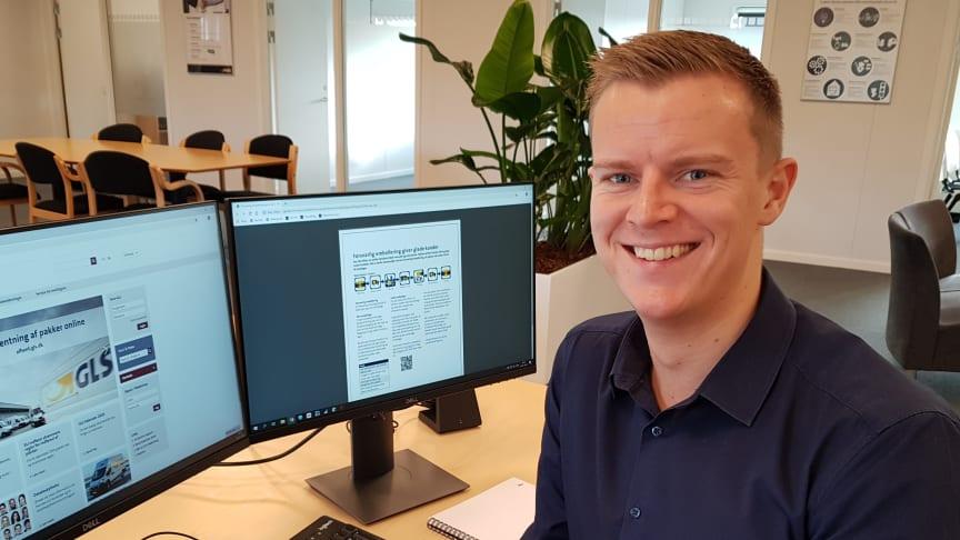 Carsten ser frem til at byde kolleger og kunder velkommen i den nye afdeling.