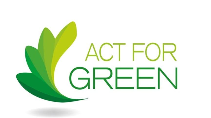 We Act for Green® från Somfy är en långsiktig strategi för miljön inom koncernen