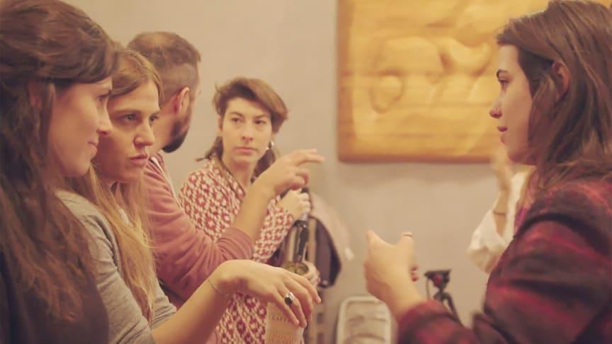Teilnehmende an der Jugendsozialstudie ‹(Re)Search› (Foto: Philip Wilson)