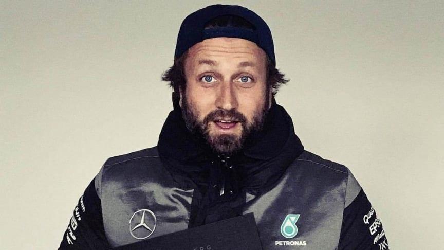 "Paul Ripke mit Buch ""Nico Rosberg FINALLY"""