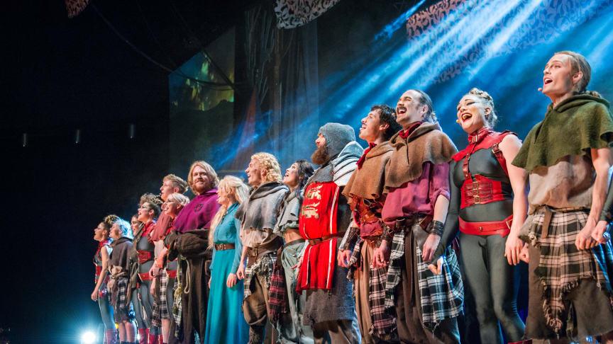 Fina recensioner och ett fantastiskt publikstöd på premiären av Robin Hood The Musical