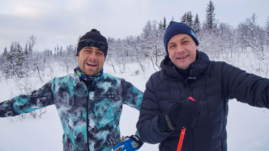 Hans Olsson och Petter Alexis Askergren åker Vasaåket 90 direkt i Vasaloppet.TV