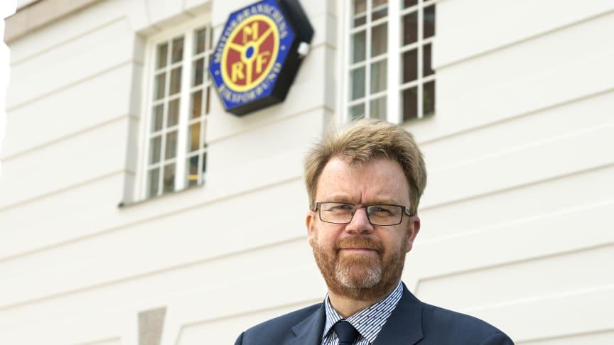 Orolig över regeringens näringspolitik, Tommy Letzén, vd MRF.