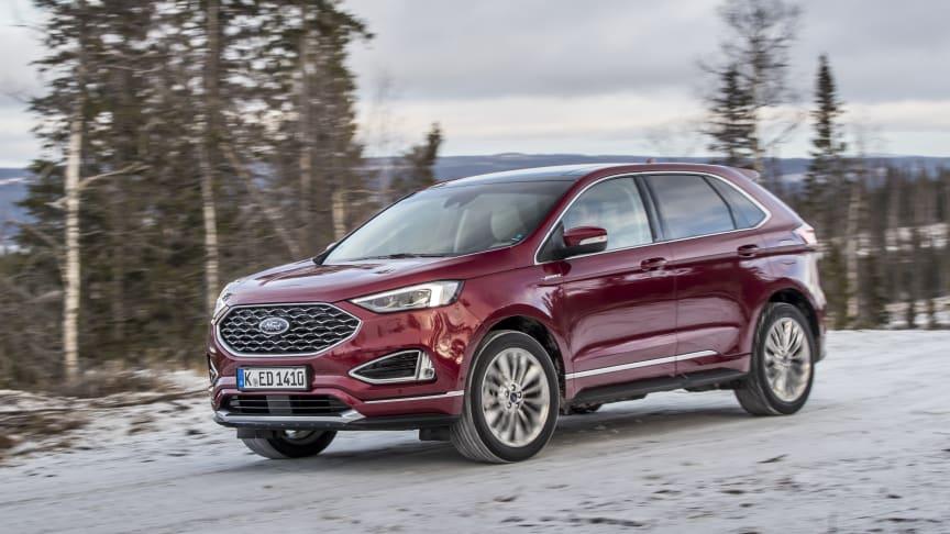 Ny Ford Edge – stilfuld og sporty SUV