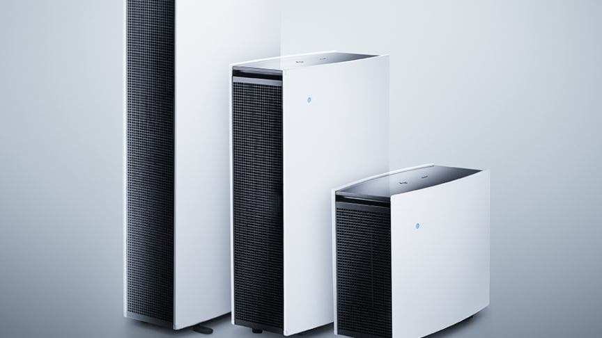 Blueair's range of Pro XL, L and M series purifiers offer top performance in removing indoor air contaminants for users in work or home environments.