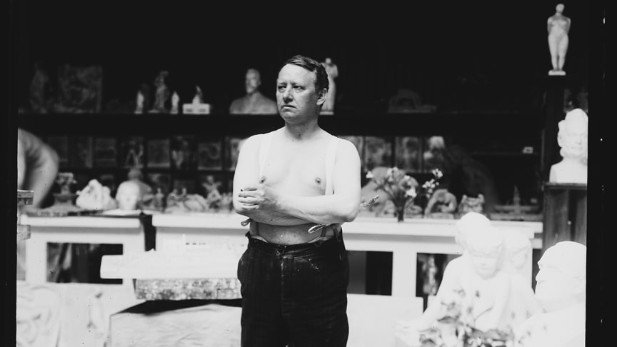 Gustav Vigeland (1869-1943) feires gjennom Vigelandjubileet 2019. (Foto: Vigeland-museet)