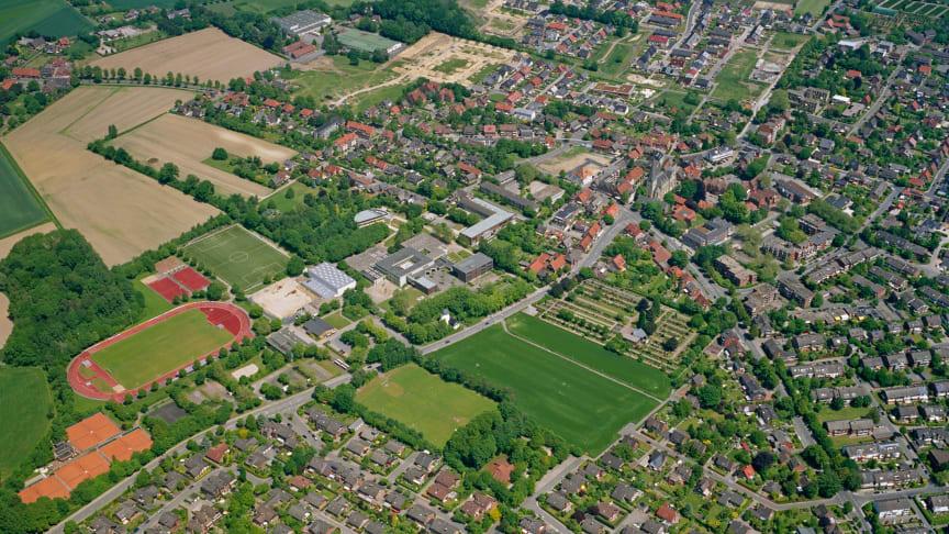 Gewerbegebiete in Roxel (Münster) erhalten Anschluss an das Hochleistungsnetz von Deutsche Glasfaser