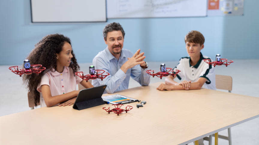 DJI Adds To DJI Education Roster With RoboMaster Tello Talent Drone