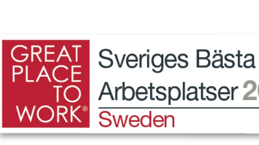 Frontit toppar listan över Sveriges Bästa Arbetsplatser