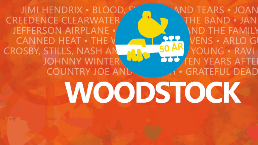 Woodstock Dalhalla  - fredagen 9 juli 2021