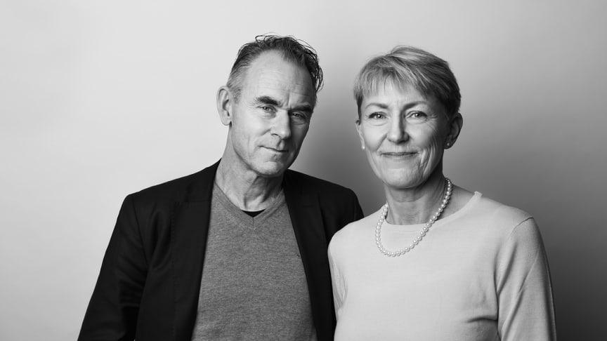 Ordförande Sverker Sörlin och Generalsekreterare Cecilia Palm.