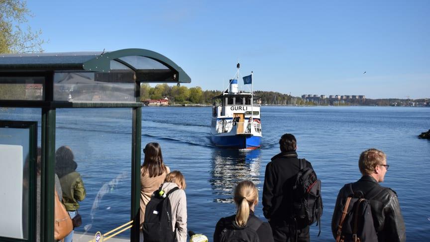 Pendelbåtslinje 80 slår resenärsrekord igen
