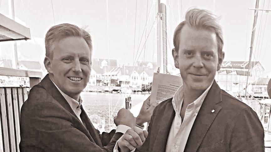 Andreas Meyer, Skåneporten (t.v.) och Peter Bergquist, Croisette (t.h.)