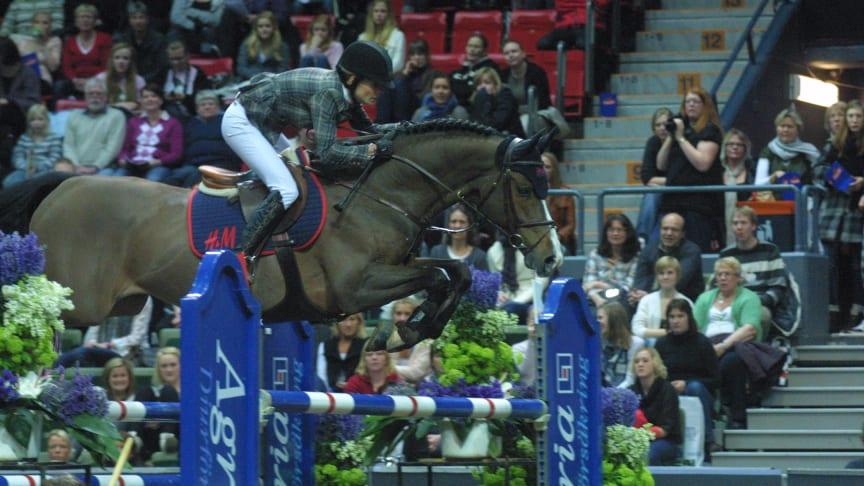 Deltagarlistorna klara till Gothenburg Horse Show