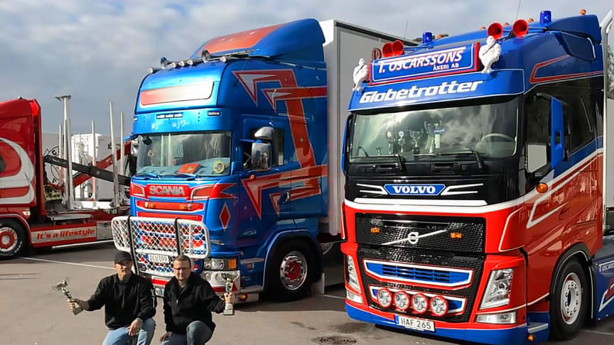 Skåne Truckshow 2018 resulterade i framgångar för Filip Berg och Tobias Oscarsson