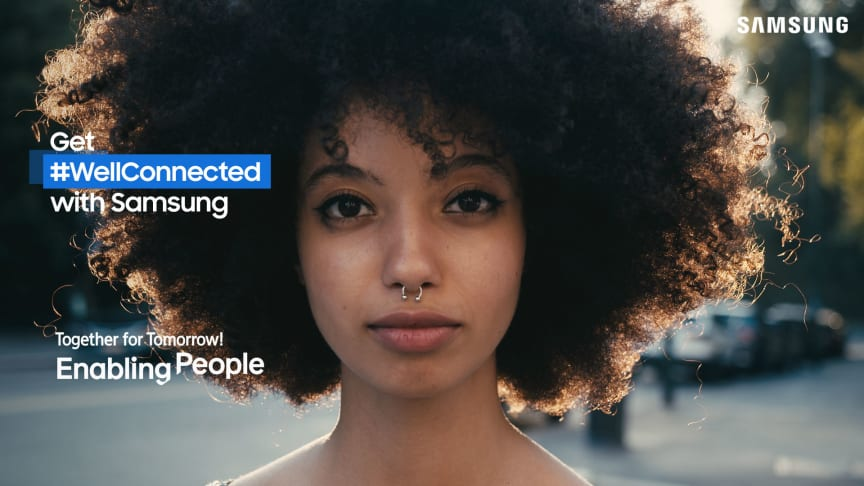 Samsung höjer ungas röster om det uppkopplade livet i nordisk kampanj
