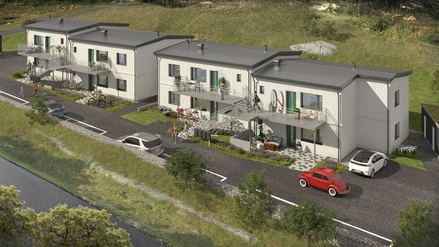 Brf Lansen, Andalen i Torslanda. 8 bostadsrättslägenheter nära havet.