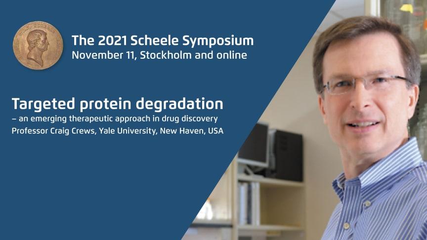 Hopp om nya behandlingar – riktad proteinnedbrytning i fokus på årets Scheelesymposium