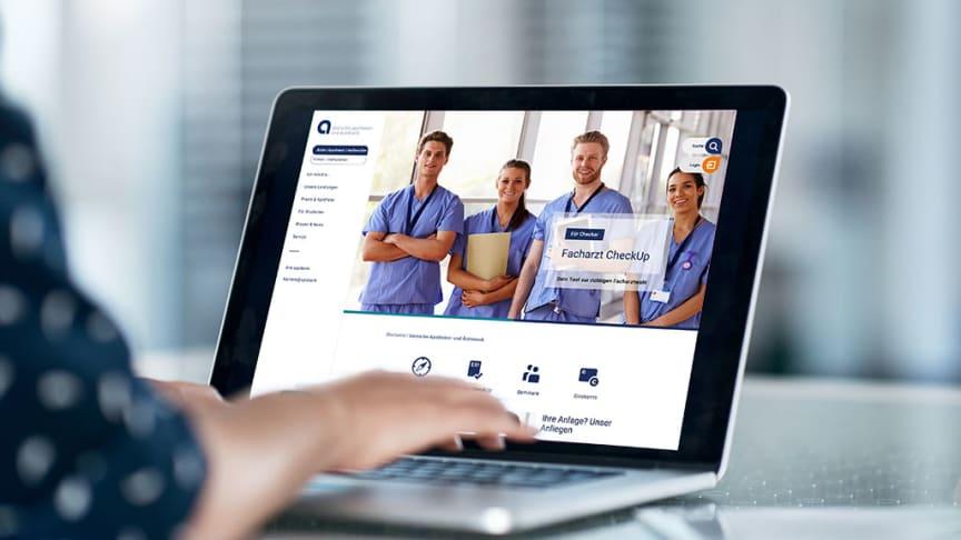 Besuchen Sie den neuen Internetauftritt unter der gewohnten Adresse www.apobank.de.