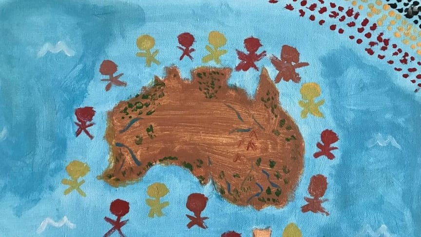 An entry to CWT's NAIDOC Week art competition