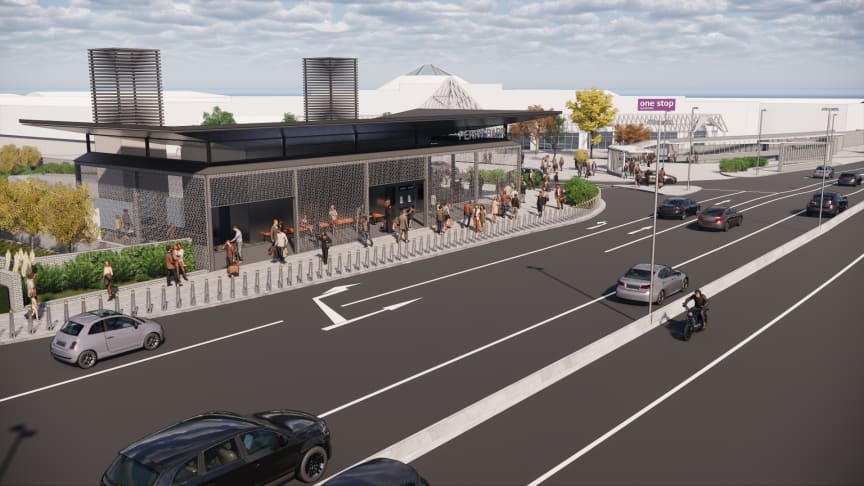 Designs for revamped Perry Barr station unveiled