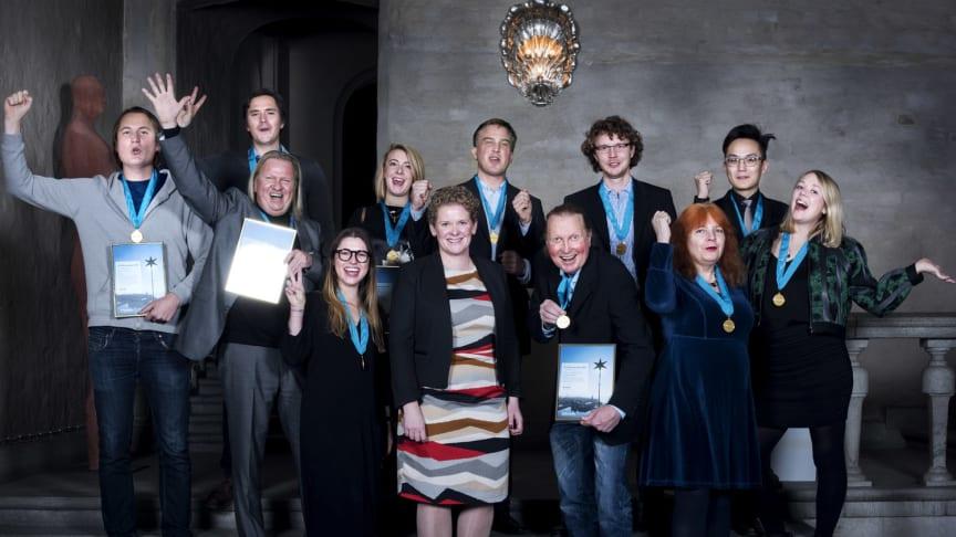Vinnarna av Stockholms Innovationsstipendium 2016