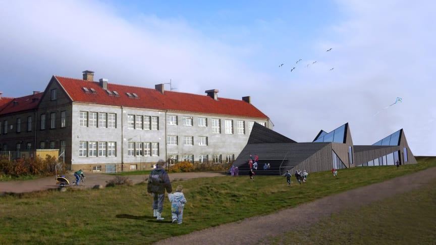 Kunskapsstaden Helsingborg bygger en ny och modern förskola på Råå