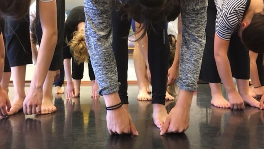 Dans för hälsa - ett projekt som stärker tjejer i Nora