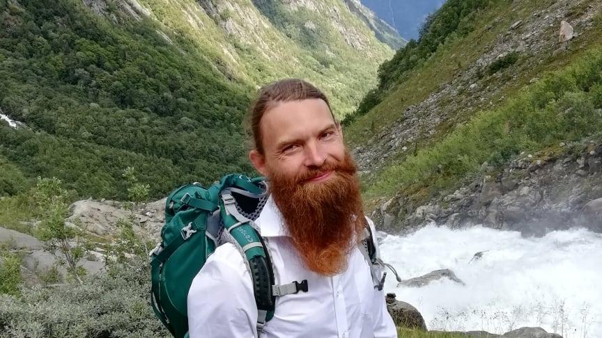 Jens Evaldsson, en av konsnärerna i Lyssna