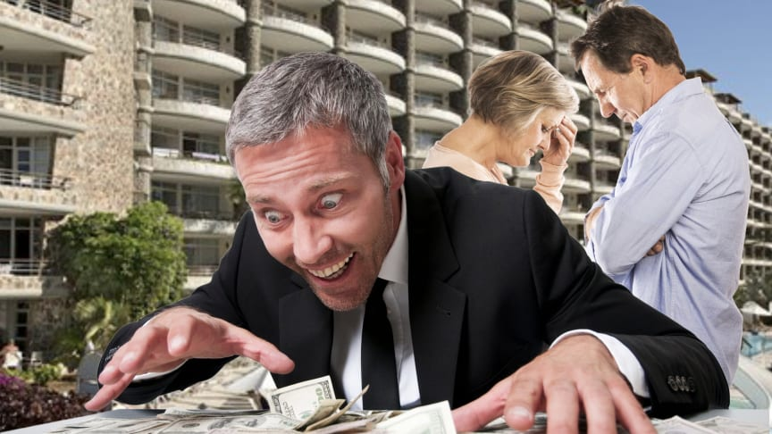Greed at the expense of the timeshare consumer
