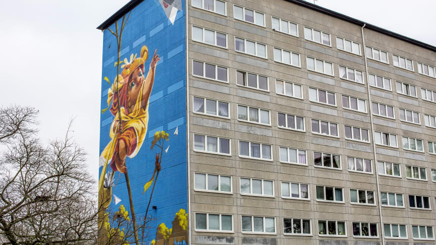 SOS Barnbyar inviger ungdomscenter i Hammarkullen