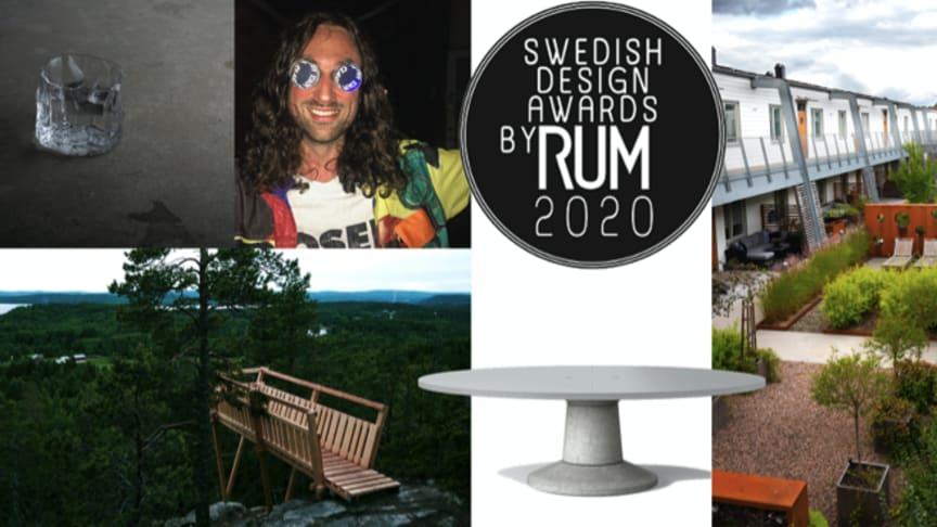Vinnarna av Swedish Design Awards by RUM 2020