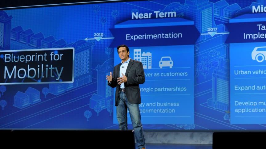 Ford annonserer plan for smarte mobilitetsløsninger og globale eksperimenter som vil endre måten verden beveger seg på.