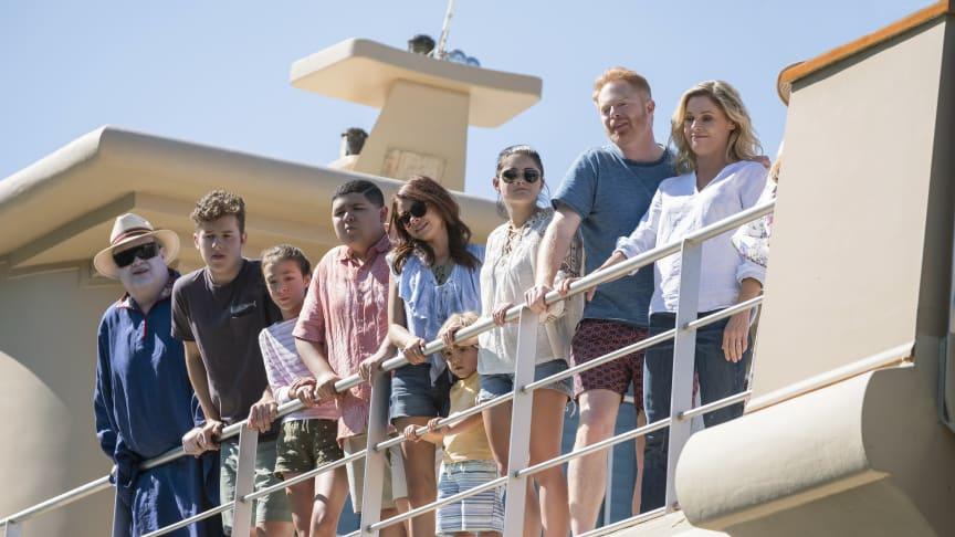 Modern Family säsongspremiär på FOX den 4/2