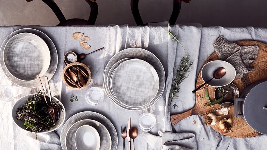 Brings nature to the table - the new Rosenthal colour Mesh Mountain.
