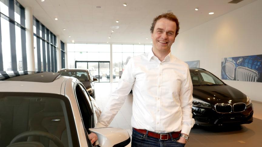 Administrerende direktør Stig Sæveland i Hedin Automotive gleder seg over oppkjøpet videre vekst med BMW