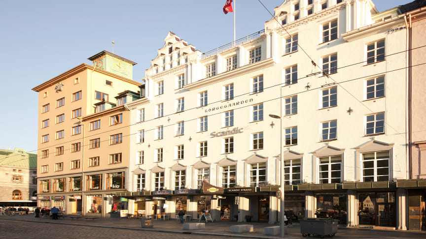 Scandic Hotels strengthens its market-leading position in Bergen by acquiring three additional hotels