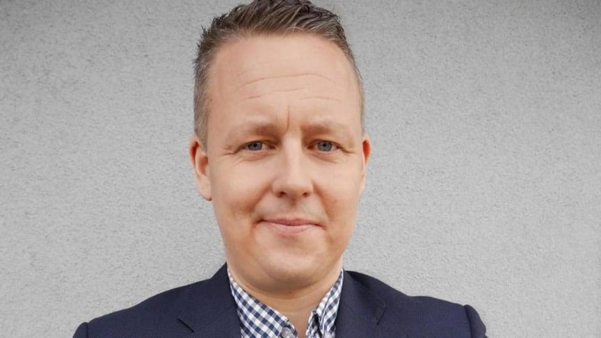 Fredrik Borggren ny produktionschef på UR. Foto: privat.