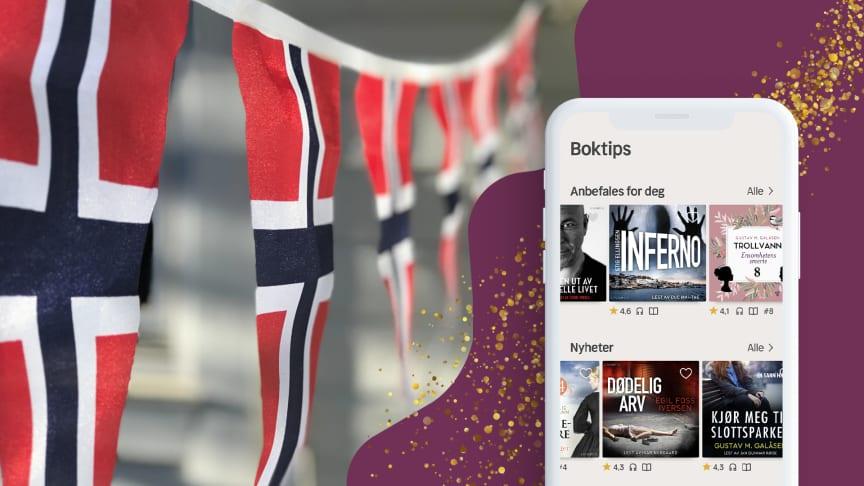 Nextory har lanserat i Norge