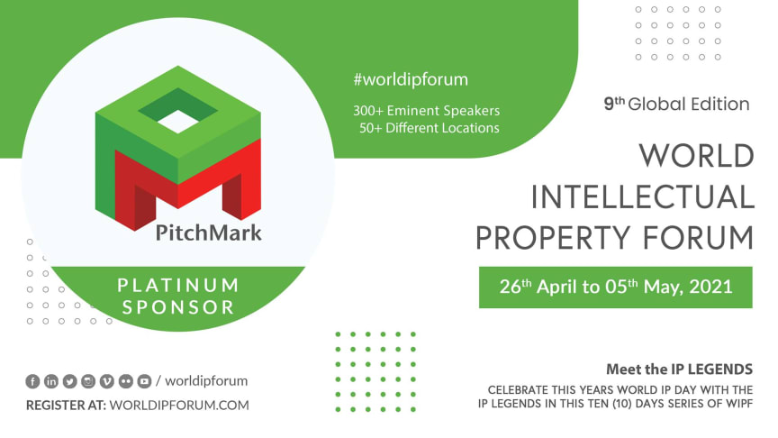 PitchMark LLP is proud to be a Platinum sponsor of the World IP Forum