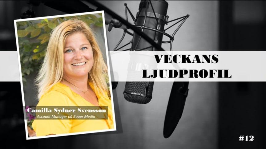 Veckans ljudprofil - Camilla Sydner Svensson