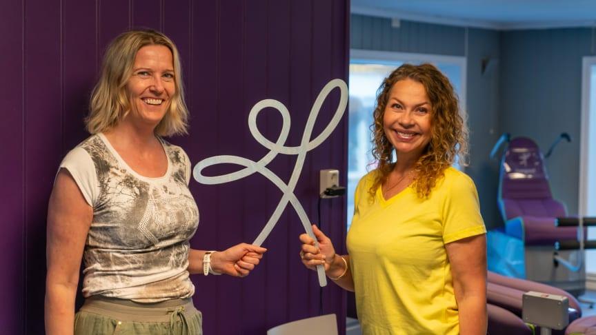 Solveig Onstad og Anita Agnemyr gleder seg til å åpne sitt andre Feelgoodsenter.