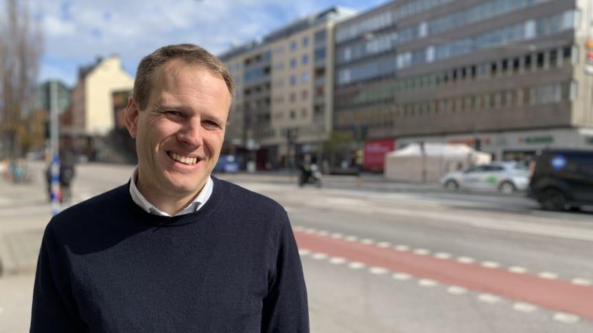 Sweden Green Building Council rekryterar Jimmy Möller som ny chef för Miljöbyggnad