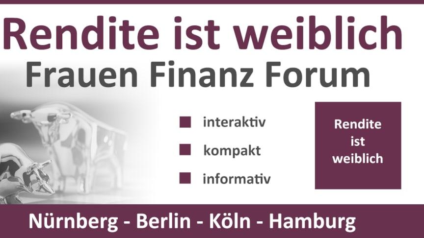 Investiert sein lohnt sich! Wie und Warum vermittelt das Frauen Finanz Forum