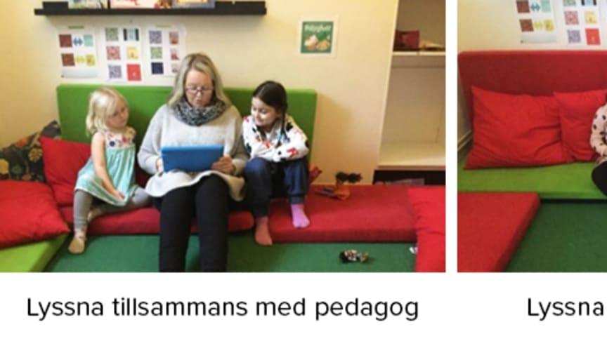 Så använder Laxöns förskola i Halmstad Polyglutt