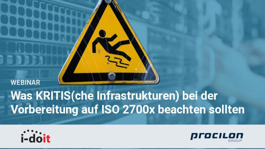 Webinar: Was KRITIS bei der Vorbereitung auf ISO2700x beachten sollten - Die wichtigsten Erkenntnisse aus bisherigen Projekten