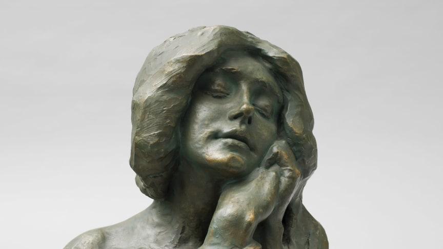 Alice Nordin, Ett minne, 1904. Foto: Linn Ahlgren/Nationalmuseum.