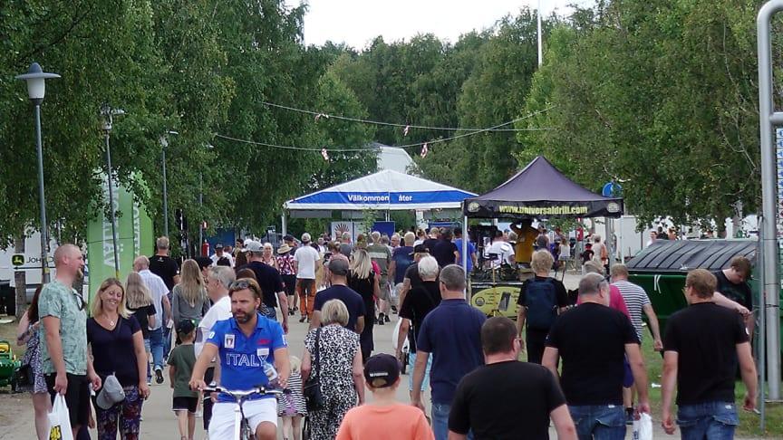 Publikbild från senast Stora Nolia hölls i Piteå.